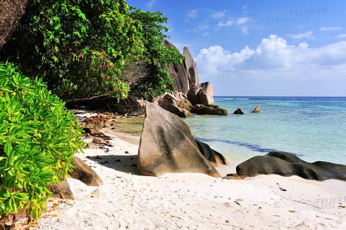 Source d'ArgentLa Digue, Seychellen