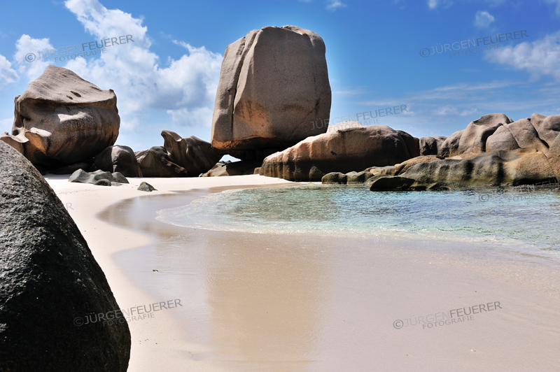 Strand Anse Marron, La Digue