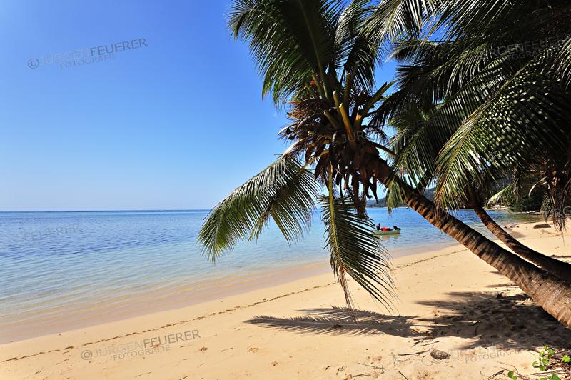 Anse aux Pins, Beach on Island Mahe, Seychelles
