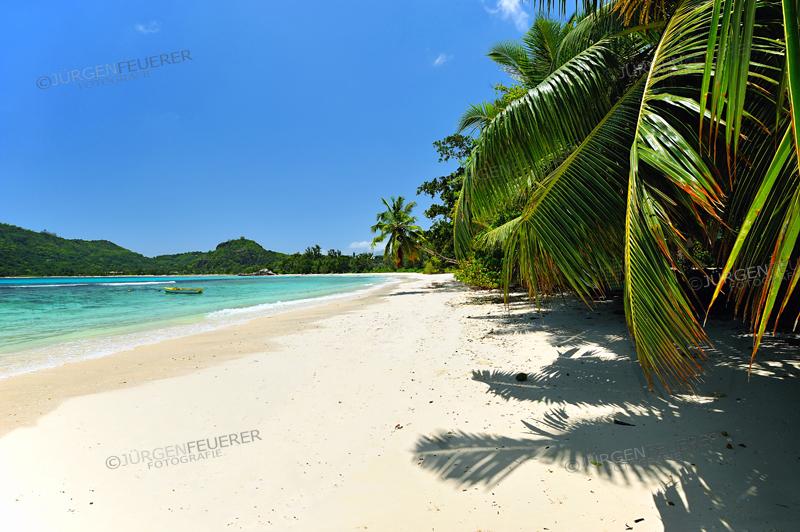 Baie Lazare, Beach on Island Mahe, Seychelles