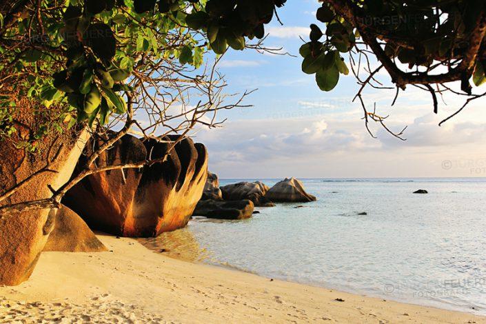 Source d'Argent, La Digue, Seychellen